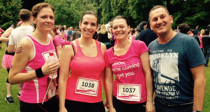 Team Tennens Run The Race For Life